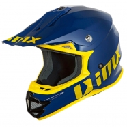 iMX Racing - Kask FMX-01 Play Blue/Yellow