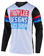 Troy Lee Designs - Jersey GP Carlsbad White Black