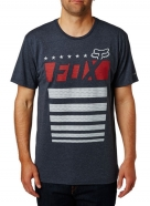 T-shirt Red White and True Tech
